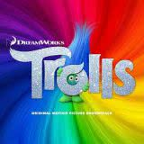Маленькая обложка диска с музыкой из мультфильма «Тролли»