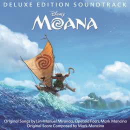 Обложка к диску с музыкой из мультфильма «Моана»