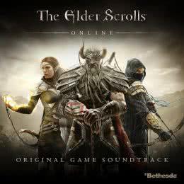 Обложка к диску с музыкой из игры «The Elder Scrolls Online»