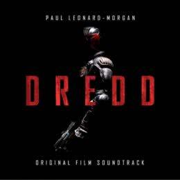 Обложка к диску с музыкой из фильма «Судья Дредд»