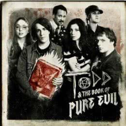 Обложка к диску с музыкой из сериала «Тодд и книга чистого зла (1 сезон)»