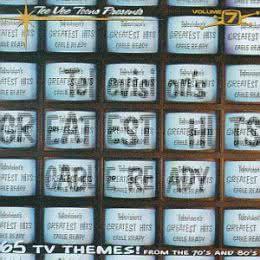 Обложка к диску с музыкой из сборника «Лучшие ТВ-хиты (7CD, 1996)»