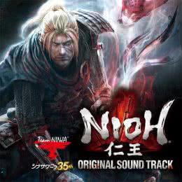 Обложка к диску с музыкой из игры «Nioh»