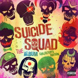 Обложка к диску с музыкой из фильма «Отряд самоубийц (коллекционное издание)»