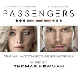 Обложка к диску с музыкой из фильма «Пассажиры»