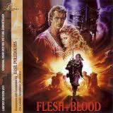 Маленькая обложка диска с музыкой из фильма «Плоть и кровь»