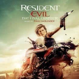 Обложка к диску с музыкой из фильма «Обитель зла: Последняя глава»