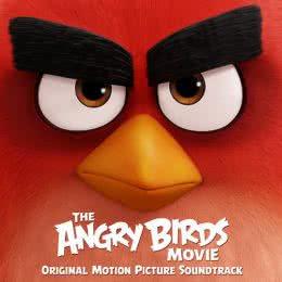 Обложка к диску с музыкой из мультфильма «Angry Birds в кино»