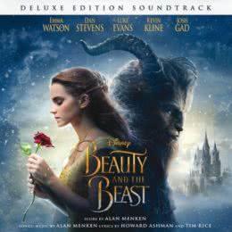 Обложка к диску с музыкой из фильма «Красавица и чудовище»
