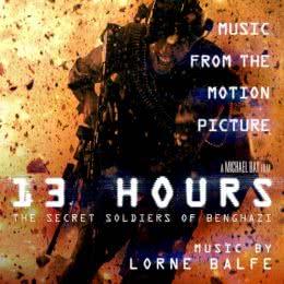 Обложка к диску с музыкой из фильма «13 часов: Тайные солдаты Бенгази»