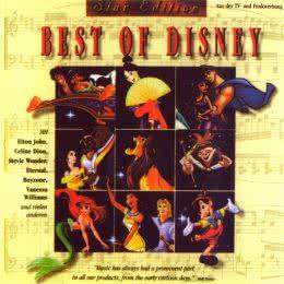 Обложка к диску с музыкой из сборника «Лучшие диснеевские песни»