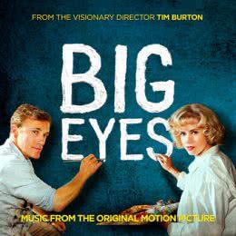 Обложка к диску с музыкой из фильма «Большие глаза»