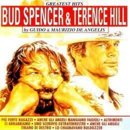 Обложка к диску с музыкой из сборника «Величайшие хиты Бада Спенсера и Теренса Хилла»