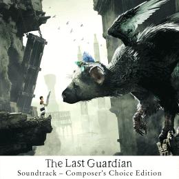 Обложка к диску с музыкой из игры «The Last Guardian»
