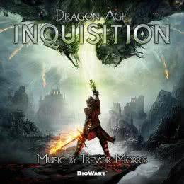 Обложка к диску с музыкой из игры «Dragon Age: Inquisition»