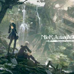 Обложка к диску с музыкой из игры «NieR: Automata»