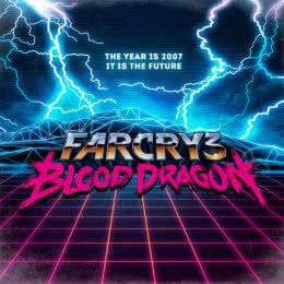 Обложка к диску с музыкой из игры «Far Cry 3: Blood Dragon»