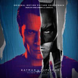 Обложка к диску с музыкой из фильма «Бэтмен против Супермена: На заре справедливости»