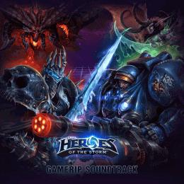 Обложка к диску с музыкой из игры «Heroes of the Storm»