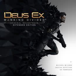 Обложка к диску с музыкой из игры «Deus Ex: Mankind Divided»
