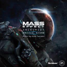 Обложка к диску с музыкой из игры «Mass Effect: Andromeda»