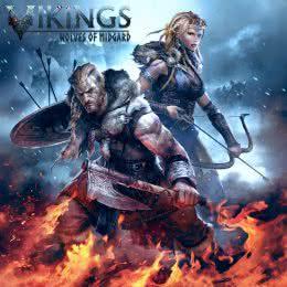 Обложка к диску с музыкой из игры «Vikings - Wolves of Midgard»