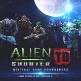 Маленькая обложка диска с музыкой из игры «Alien Shooter TD»