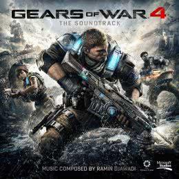 Обложка к диску с музыкой из игры «Gears of War 4»