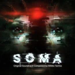 Обложка к диску с музыкой из игры «Soma»