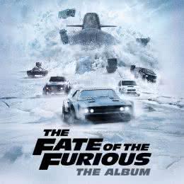 Обложка к диску с музыкой из фильма «Форсаж 8»