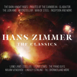 Обложка к диску с музыкой из сборника «Классика от Ханса Циммера»
