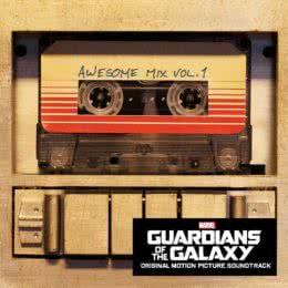 Обложка к диску с музыкой из фильма «Стражи Галактики»