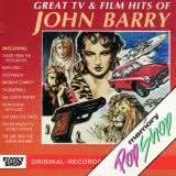 Маленькая обложка диска с музыкой из сборника «Величайшие хиты от Джона Барри»