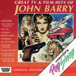 Обложка к диску с музыкой из сборника «Величайшие хиты от Джона Барри»