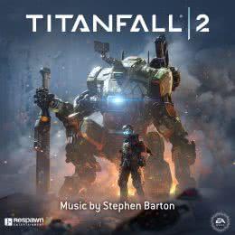 Обложка к диску с музыкой из игры «Titanfall 2»