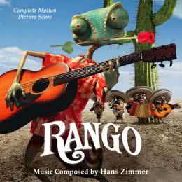 Обложка к диску с музыкой из мультфильма «Ранго»