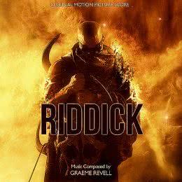 Обложка к диску с музыкой из фильма «Риддик»