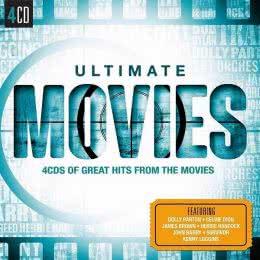 Обложка к диску с музыкой из сборника «Лучшие кинохиты (4CD, 2015)»
