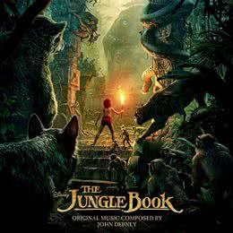 Обложка к диску с музыкой из мультфильма «Книга джунглей»