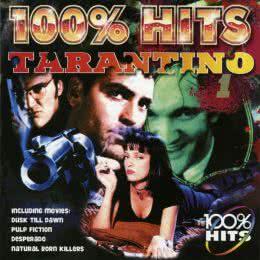 Обложка к диску с музыкой из сборника «100% хиты от Тарантино I»