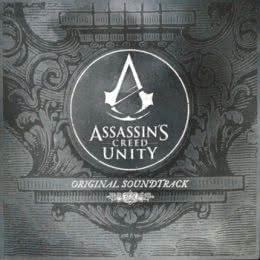 Обложка к диску с музыкой из игры «Assassin's Creed: Unity»