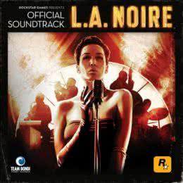 Обложка к диску с музыкой из игры «L.A. Noire»