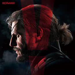 Обложка к диску с музыкой из игры «Metal Gear Solid 5 - The Phantom Pain»