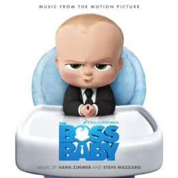 Обложка к диску с музыкой из мультфильма «Босс-молокосос»