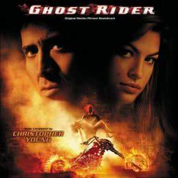 Обложка к диску с музыкой из фильма «Призрачный гонщик»