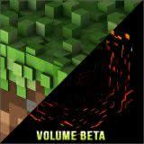 Маленькая обложка диска с музыкой из игры «Minecraft: Volume Beta»