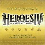Маленькая обложка диска c музыкой из игры «Heroes of Might and Magic 4»