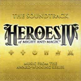 Обложка к диску с музыкой из игры «Heroes of Might and Magic 4»
