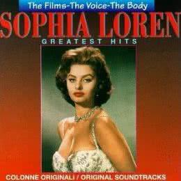 Обложка к диску с музыкой из сборника «Софи Лорен. Величайшие хиты (1995)»
