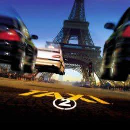 Обложка к диску с музыкой из фильма «Такси 2»